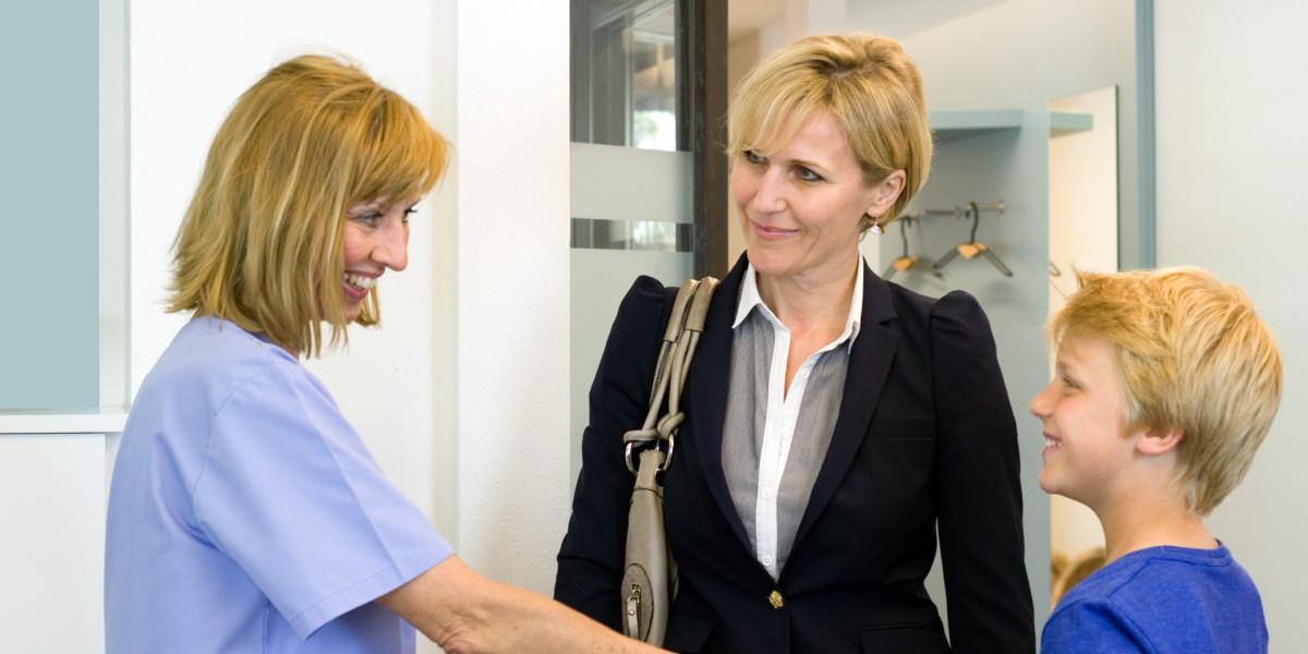 Zahnarztpraxis Feldkirchen - Begruessung